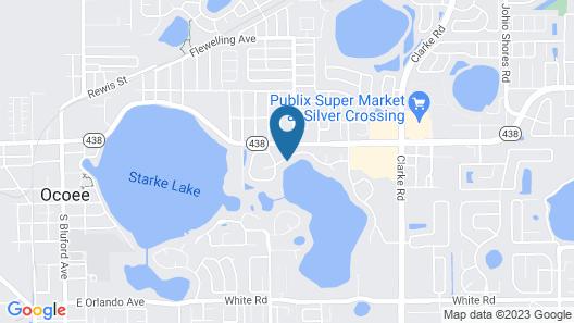 Lakefront Suites Map