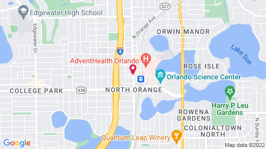 Comfort Suites Downtown Map