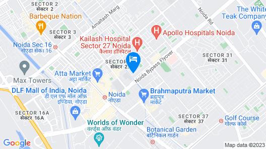Hotel P.K. Residency Map