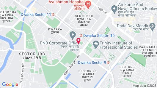Welcomhotel by ITC Hotels, Dwarka, New Delhi Map