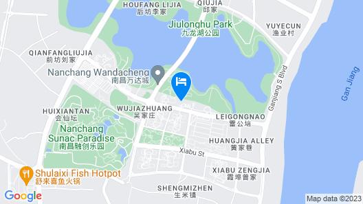 Wanda Realm Resort Nanchang Map