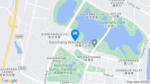 Mercure Nanchang Sunac Map