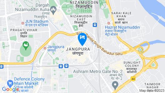 Krishna Inn Map