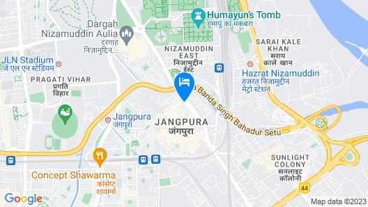 Rajdhani Inn Map