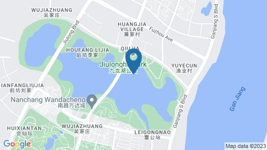 Pullman Nanchang Sunac Map