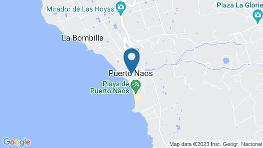 Sol La Palma Hotel Map
