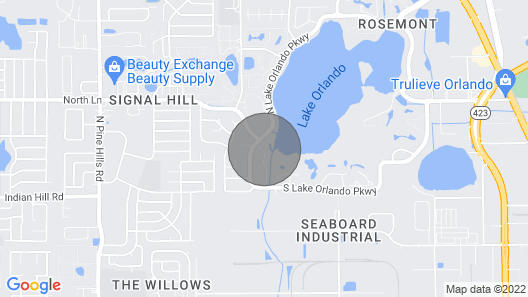 Lakeview 3 BR Villa with large private pool nestled into Florida's nature Map