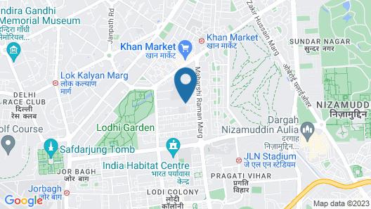 Krishna Cottage Map