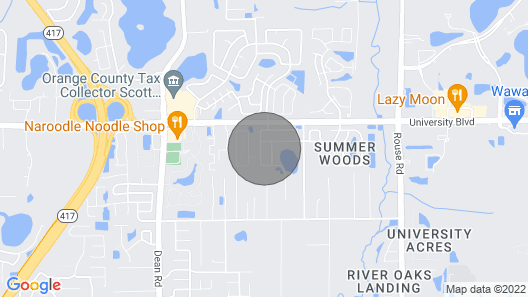 1 Mile to Ucf; 30 min to Disney; 1 Bedroom 1 Bath Apt; Private Entrance Map