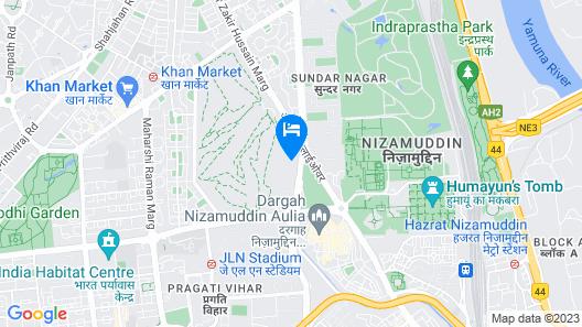 The Oberoi, New Delhi Map