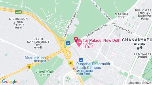 Taj Palace, New Delhi Map