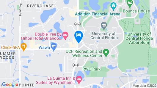 The Celeste Hotel, Orlando, a Tribute Portfolio Hotel Map