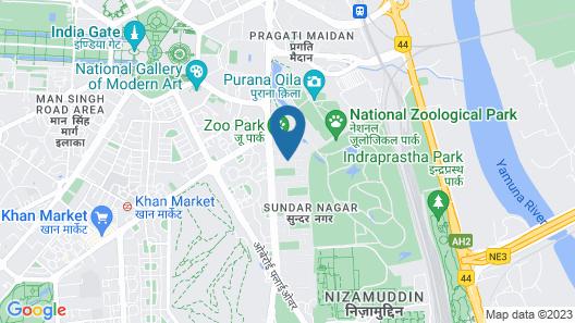 FabHotel Prime Shervani Map