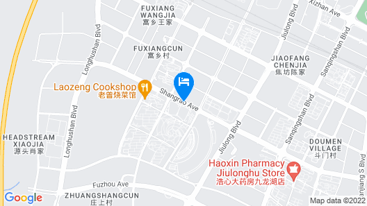Primus Hotel Nanchang International Expo City Map