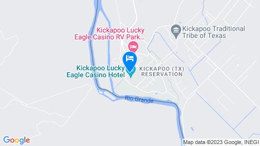 Kickapoo Lucky Eagle Casino Hotel Map