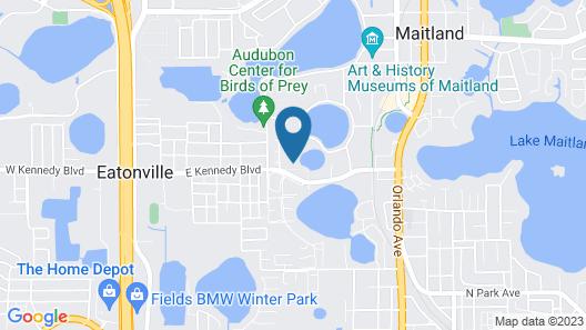 Thurston House Map