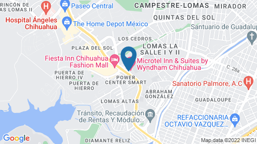 Microtel Inn & Suites by Wyndham Chihuahua Map