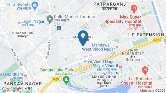 ADB Rooms Hotel Nazeer Map