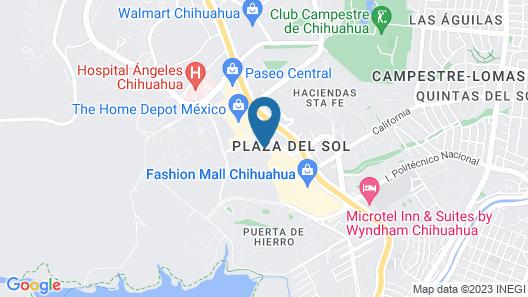 Wingate By Wyndham Chihuahua Map