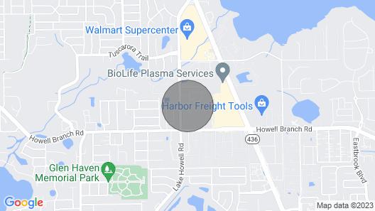 Casa Citrus Map