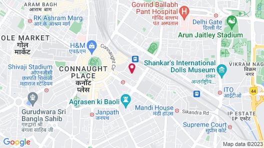 The LaLiT New Delhi Map