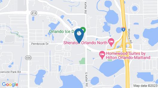 Courtyard Orlando Altamonte Springs/Maitland Map