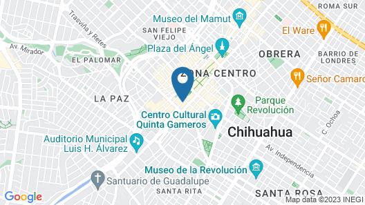 Quality Inn San Francisco Map
