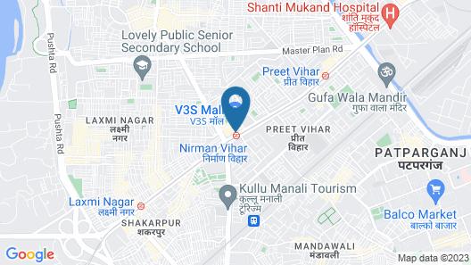 OYO 638 Hotel Maharaja Residency Map