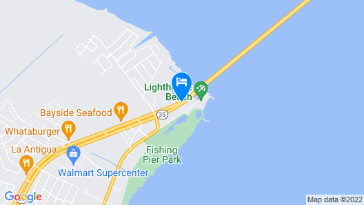 Holiday Inn Express & Suites Port Lavaca Map