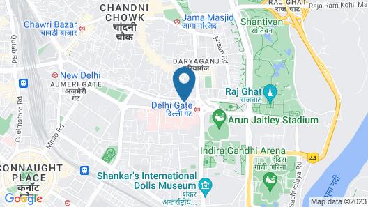goSTOPS Delhi Map