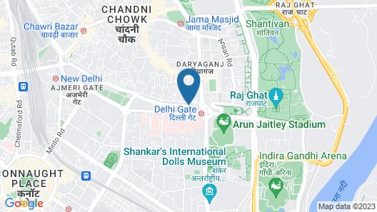 zed hotel Map