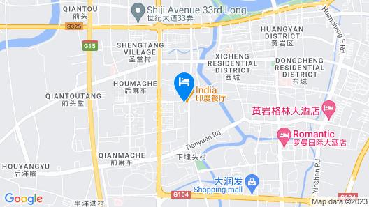 Zhejiang Taizhou Marriott Hotel Map