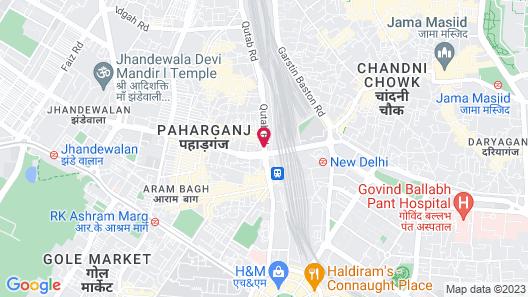 Hotel Ajanta Map