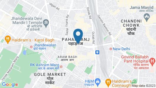 Hotel City Star Map