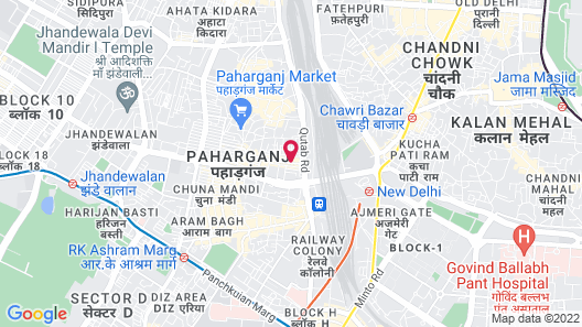 Rama Inn Map