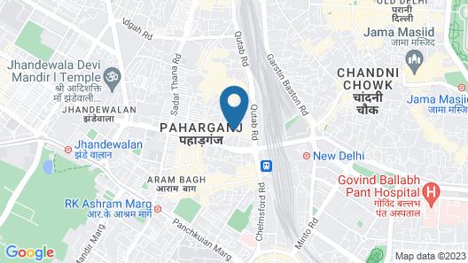 Hotel Aura Map