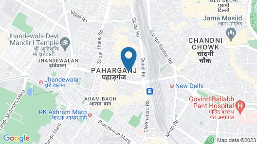 Hotel Krishna Map