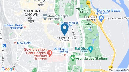 HOTEL WALLSTREET Map
