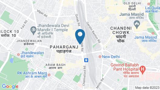 Optimum Baba Residency Map