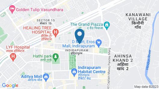 Royal Park Hotels & Resorts Map
