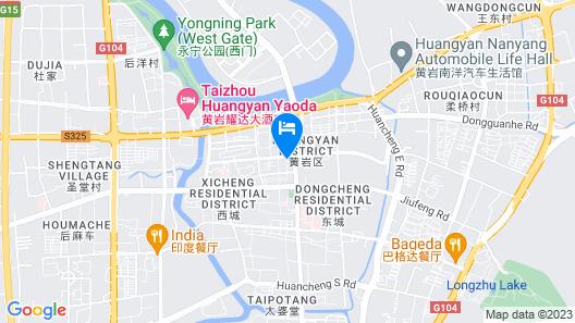 TaiZhou Orange Town Hotel Map