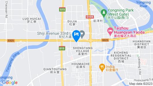 Jiuxi Cloud Valley Hotel Map