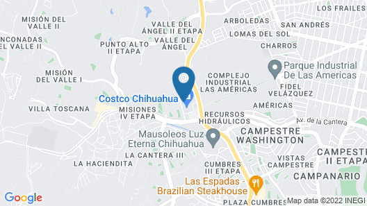 Extended Suites Chihuahua La Juventud Map