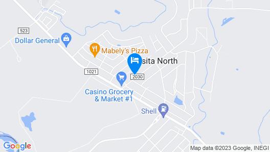 Casino Hotel Map
