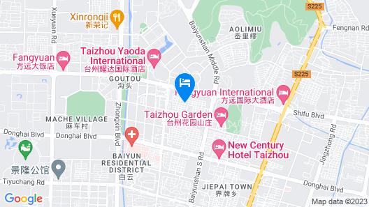 S&N Garden Hotel Taizhou Map