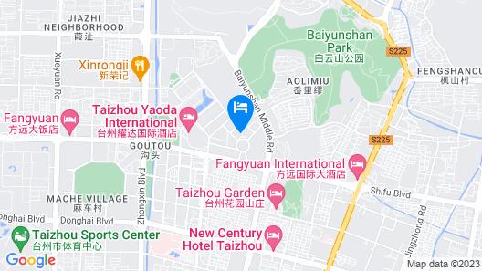 Holiday Inn Express Taizhou CMC, an IHG Hotel Map