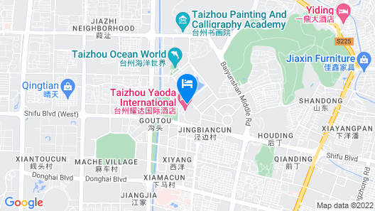 Yaoda International Hotel Map