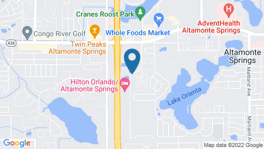 Extended Stay America - Orlando - Altamonte Springs Map