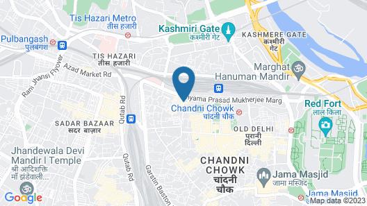 Hotel Le Mem Map