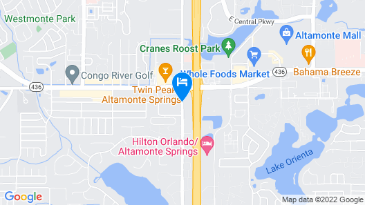 Opal Hotel & Suites - Formally Extended Stay Map